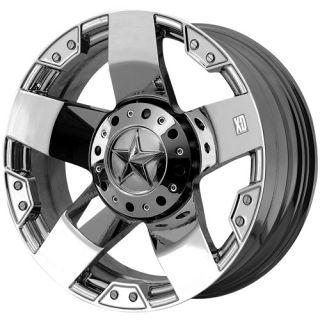Rockstar 5x150 Tundra LX470 LX570 Chrome Wheels Rims Free Lugs