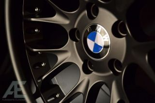 inch BMW E39 525i 525xi 528i 540i Wheels Rims GT7 Matte Black