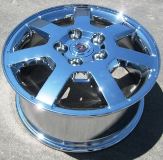 16 GM CADILLAC CTS OEM CHROME WHEELS RIMS DEVILLE DTS SEVILLE SET OF 4