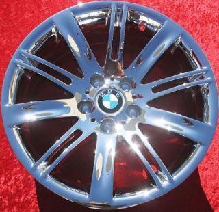 New 18 BMW 645Ci M6 650i OEM Chrome Wheels Rims 633Csi EXCHANGE 59488