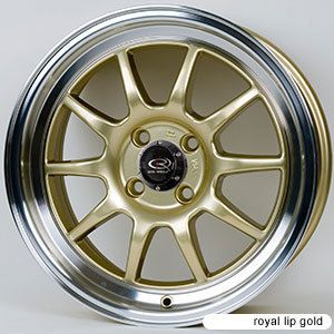 Rota GT3 16x7 4x100 ET40 67 1 Hub Gold Rims Wheels