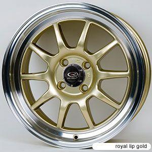 Rota GT3 16x7 4x100 ET40 67 1 Hub Gold Rims Wheels