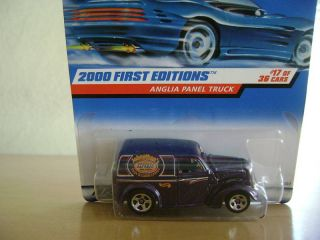 Hot Wheels 2000 First Edit Anglia Panel Truck 17 36