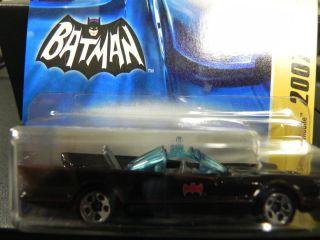 Batman Batmobile Mattel Hot Wheels Car Toy Collectible Bat 1960 s TV