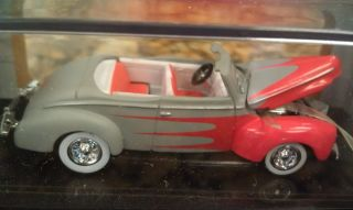 1940 40 Ford Convertible Rat Rod Primer 100 Hot Wheels Limited Edition