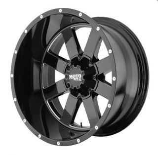 MOTO METAL MO962 6X5 5 ESCALADE SILVERADO YUKON QX4 BLACK WHEELS RIMS