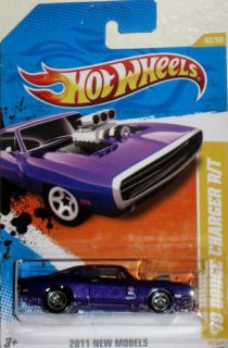 1970 Dodge Charger R T Hot Wheels 2011 New Model 42 50