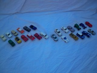 Lot 24 Vintage Hot Wheels Matchbox Cars