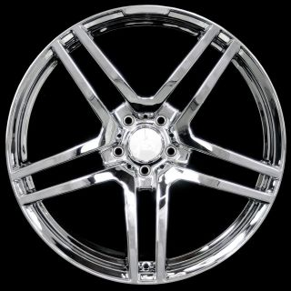 STAGGERED STYLE CHROME Wheels Rims Fit Mercedes S CLASS W220 W221 2000