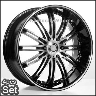 22inch Wheels Rims Chevy Ford Escalade QX56 Tahoe Yukon