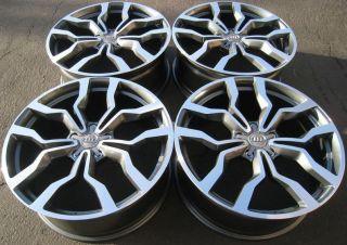 Wheels Set For Audi A8 A4 A6 Q5 VW Phaeton Tiguan S Line Style Rims