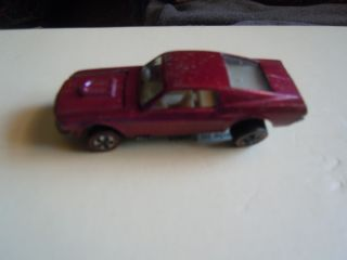 Hot Wheels Redline Creamy Pink US Custom Mustang
