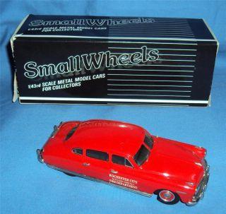 Models 1 43 1948 Hudson Commodore Fire Chief Small Wheels w Box