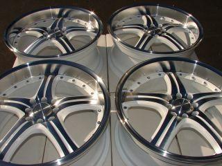 Rims White Sonata Accord Civic Prelude Tiburon S40 4 Lug Wheels