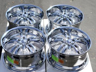 Chrome Wheels Chevrolet Astro Van Caprice Impala Wrangler 5 Lug Rims
