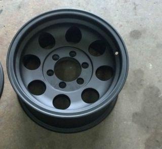 16 Ultra 164 Black Wheel 16x8 1646883 6x5 5 6 Lug Chevy Ultra Wheels