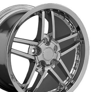 C6 Z06 Style Deep Dish Wheels Rims Fit Chevrolet Camaro