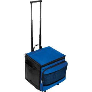 Toppers™ Party Cruiser 48 Can Cooler on Wheels Royal Black