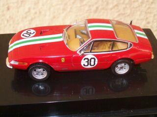 Ferrari 365 GTB 4 Daytona Coupe 1 43 Scale Replica Hot Wheels