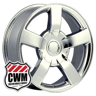 Chevy Silverado SS 2003 Replica Chrome Wheels Rims 6x5 50 22mm offset