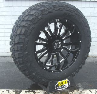 20 Eagle Alloy 511 Black Wheels 20x10 35x12 50 20 Federal MT Mud Tires