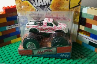 Hot Wheels Monster Truck Jam Madusa Diecast Trading Card Series 48 80