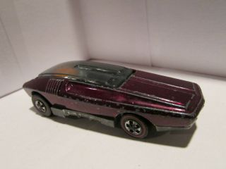 1970 Hot Wheels Redline Whip Creamer HTF Magenta Tough COLOR Nice Car