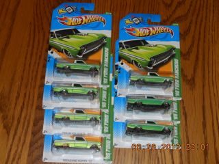 65 Ford Ranchero Hot Wheels 2012 Treasure Hunt Reg 7x