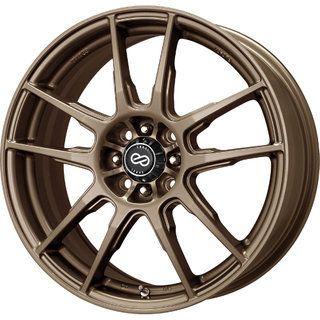 17 Enkei FLC 01 Bronze Rims Wheels 17x7 50 5x112 Jetta Passat Golf GTI