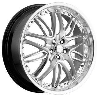 Inferno 5x114 3 Murano Outlander Silver Rims Wheels Free Lugs