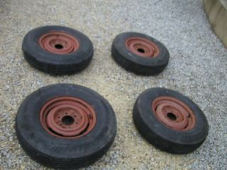 1951 50 49 48 47 52 53 Chevrolet Chevy GMC Truck 4 wheels rims tires