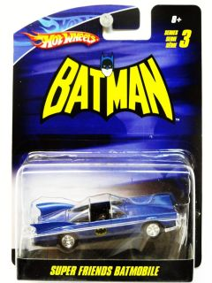 Hot Wheels Super Friends Batmobile 1 50 Series 3
