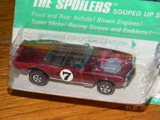 My Firebird 1970 Redline in Blister Hot Wheels Original BP Card