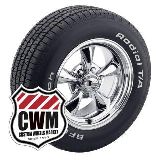 15x7 15x8 Chrome Wheels Tires 225 60R15 245 60R15 for Pontiac Firebird