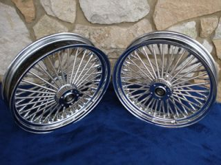 21x3 5 DNA Mammoth 52 Spoke Wheels for Harley Softail