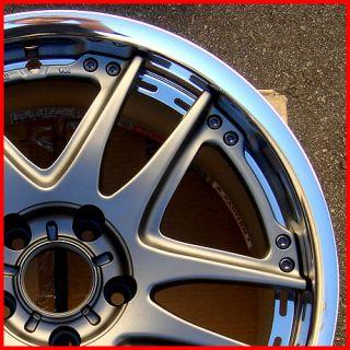 18 Volk by Rays GT V 18x9 Nissan Infiniti G35 Lexus Wheel Rim