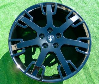 BRAND NEW FACTORY BLACK OEM Maserati GRANTURISMO Neptune Design WHEELS