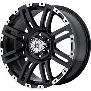 New 20x9 5x135 American Outlaw Bunker Wheel Rim