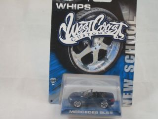 Hot Wheels Mercedes SL 55 Convertible West Coast Custom