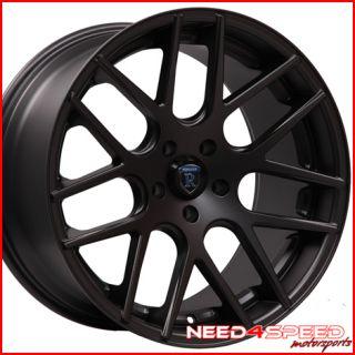 SL550 SL600 SL55 SL600 SL Rohana RC26 Concave Black Wheels Rims