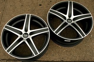 Niche Euro M102 20 Black M Rims Wheels Benz CLS55 AMG 20 x 8 5 9 5 5H