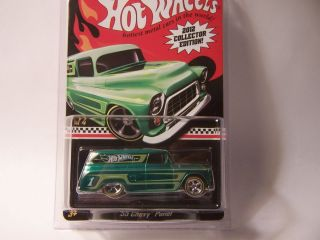 2012 HOT WHEELS RLC MAIL IN 55 CHEVY PANEL  MOMC WILL BE SHIPPED W
