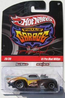 Hot Wheels Phils Garage 41 Pro Mod Nitro Willys 20 39