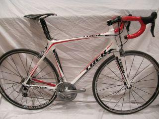 2010 Trek Madone 5 1 Ultegra 6700 Bontrager Race Wheels 56cm