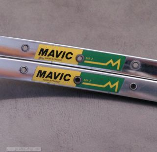 Mavic Rim MA2 Clincher Vintage Bike 700c Made in France Rims MA 2