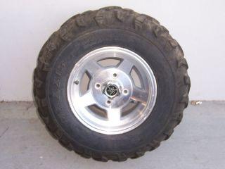 Set Yamaha Rhino Aluminum Rims Wheels Tires SSV 5UG40 50 00