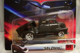 Hot Wheels Ultra Hots Exclusive Black 50s Chevy Dump Bed Truck RR WW