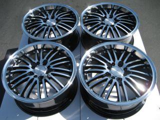 4x100 Polished Wheels Integra Ford Focus ZX2 VX3 SVT Cougar 4 Lug Rims