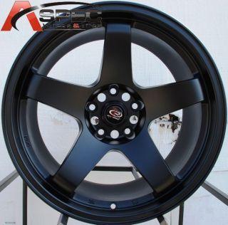18x9 5 Rota P 45R 5x114 3 30 Flat Black Wheel Fits Subaru STI Scion XB