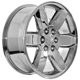Chevy Tahoe Avalanche Suburban Silverado Chrome Wheels Rims